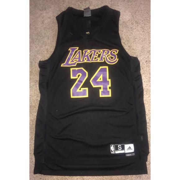 Black Mamba Lakers Adidas Stitched